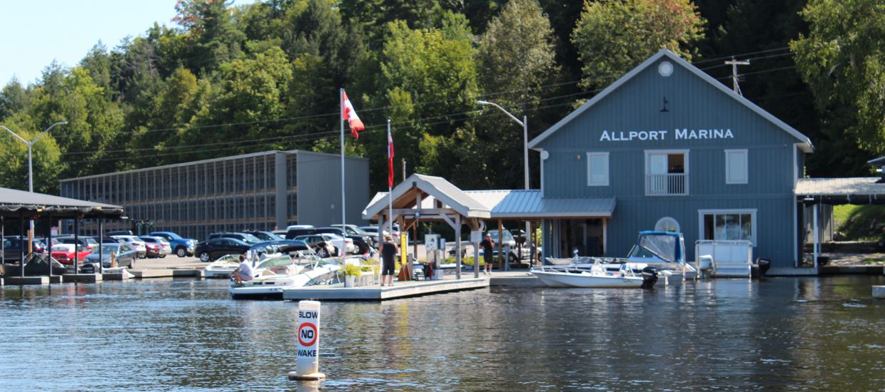 Allport Marina Store on Lake Muskoka